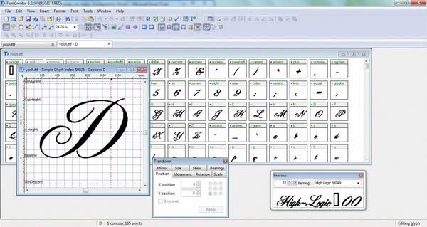 The Font Creator