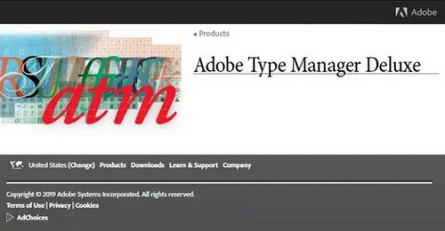 Adobe Type Manager Deluxe